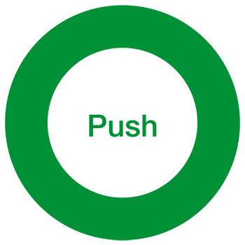 Push in a circle